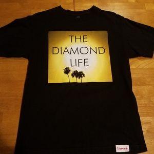 Men's Diamond Supply Co Life Shirt. Size medium.